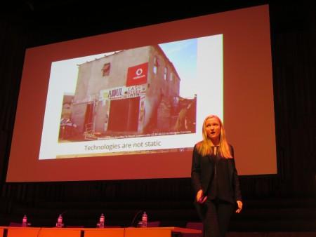 ليلا تريتكوف تتحدث في ويكيمانيا 2014